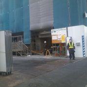 工事現場の警備